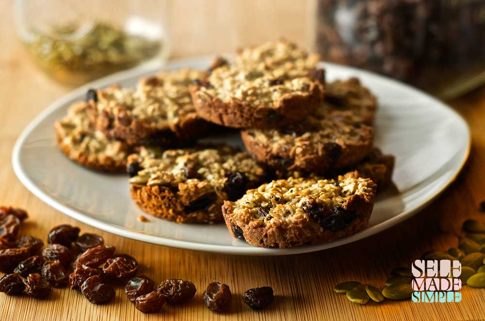 Noly Cookies are not only healthy but the are also a great environmental alternative to packaged granola treats. All natural ingredients and no excess packaging to dispose of. You will always feel good about serving these to your family.